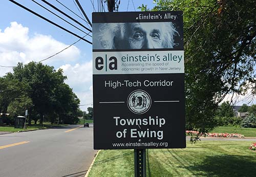 Einstein Alley in Ewing