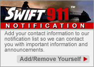 Swift911 Community Notifications