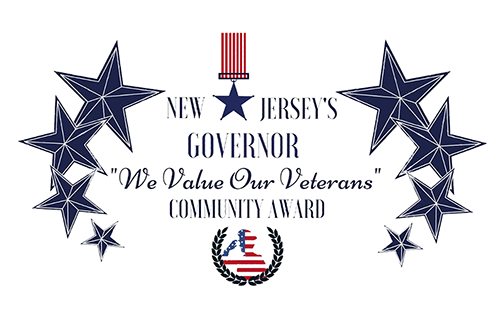 Ewing receives the Governor's We Honor Our Veterans Award November 11, 2019