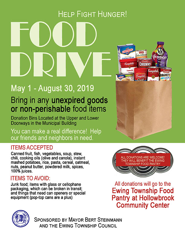 2019 Food Drive Flyer